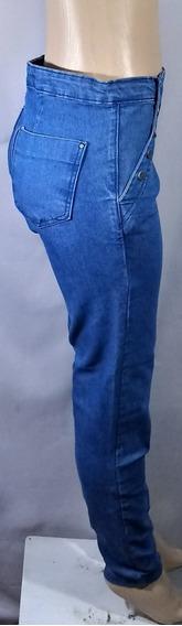 Calça Jeans Feminina Com Botoes M05!!! Nova