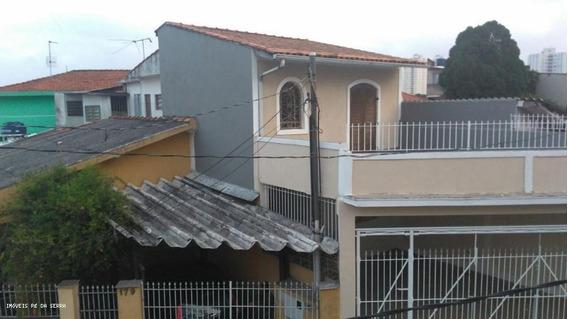 Casa Para Venda Em São Paulo, Horto Florestal, 3 Dormitórios, 1 Suíte, 2 Banheiros, 3 Vagas - 056