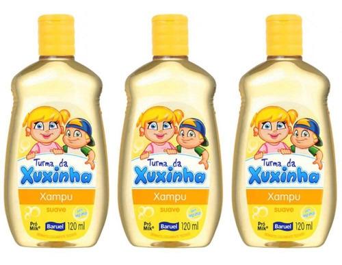Baruel Turma Da Xuxinha Suave Shampoo 120ml (kit C/03)