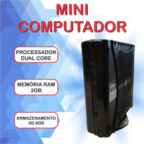 Mini Computador Supera Ultra Slim C/ Windows 7 + Office Hdmi