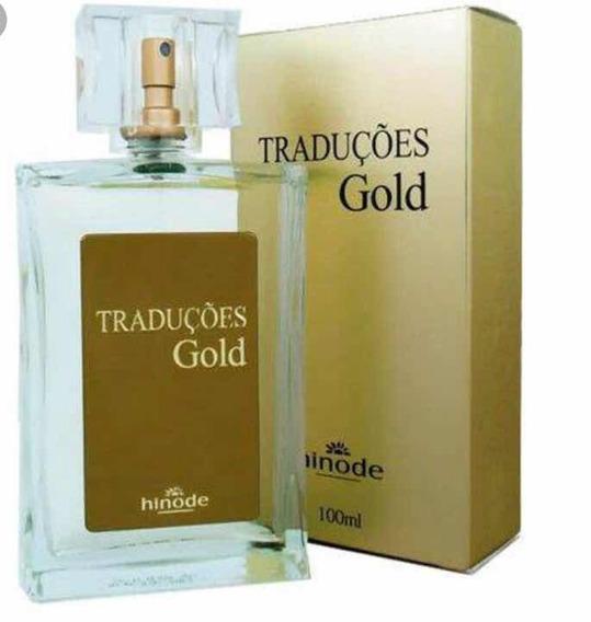 Perfume Traduções Gold Masculino