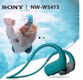 Sony Nw-ws413 Walkman Resistente Agua Y Polvo Mp3 4g Nuevos En Caja Original Sellada Micrófono Ambiental Palermo