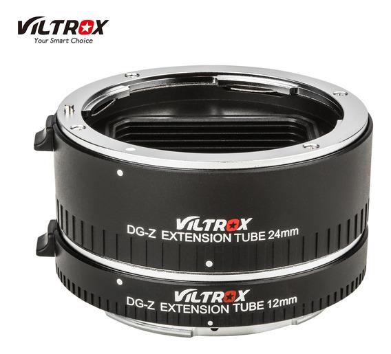 Viltrox Dg-z Tubos De Extensão Macro Automática 12mm 24mm Co