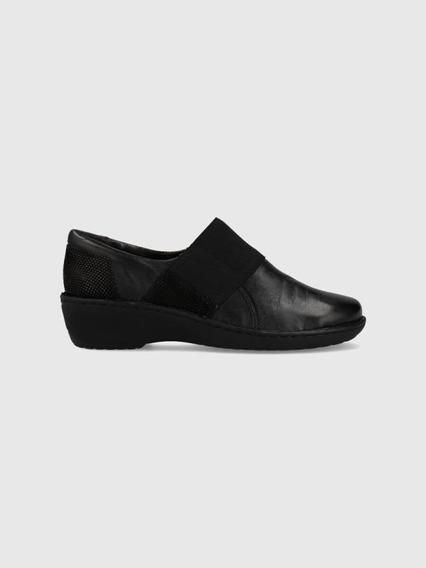 Zapato Mujer Pasqualini Jaspe Nero Comfort Life
