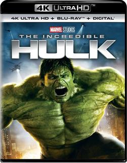4k Ultra Hd + Blu-ray The Incredible Hulk / Increible Hulk