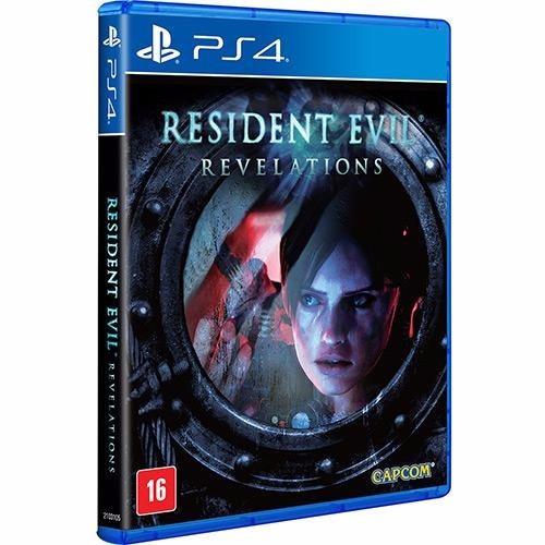 Jogo Midia Fisica Resident Evil Revelations Terror Play Ps4