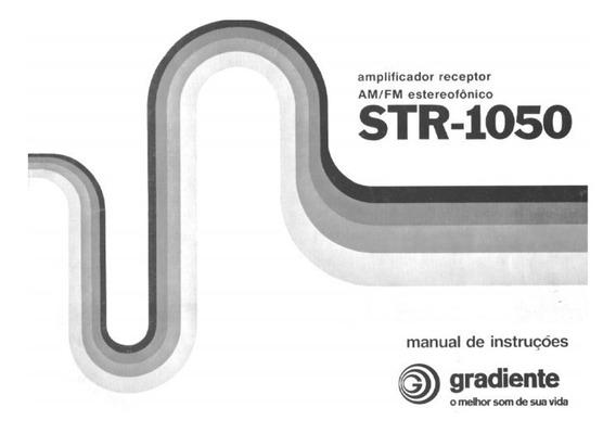 Manual Receiver Gradiente Str-1050 - Cópia Dig. 18 Pgs