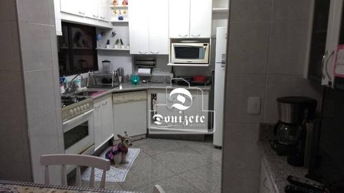 Apartamento Com 3 Dormitórios À Venda, 162 M² Por R$ 790.000,00 - Vila Assunção - Santo André/sp - Ap4069