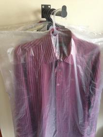 Sacos Plásticos P/ Lavanderia Capas Terno Camisas 200 Unid.