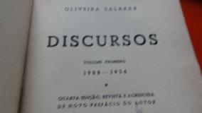 Livro: Discursos E Notas Políticas - 4 Livros - 1962