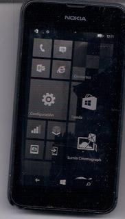 Nokia Lumia 530.. Bateria Dañada, Detalle En Lcd