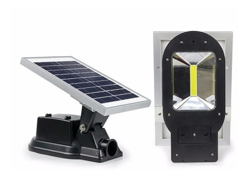 Poste Reflector Panel Solar Led Para Exterior 10watts
