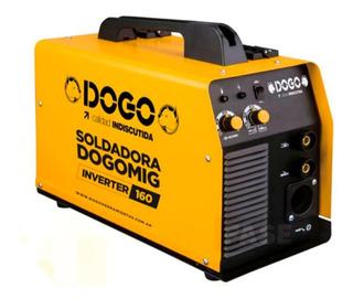 Soldadora Inverter Dogo 160 Amp Mig Dual Torcha Dog50018
