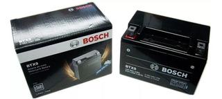 Bateria Moto Ytx9 Bosch Btx9 Gel Ktm Duke 200 Rouser Smx 400