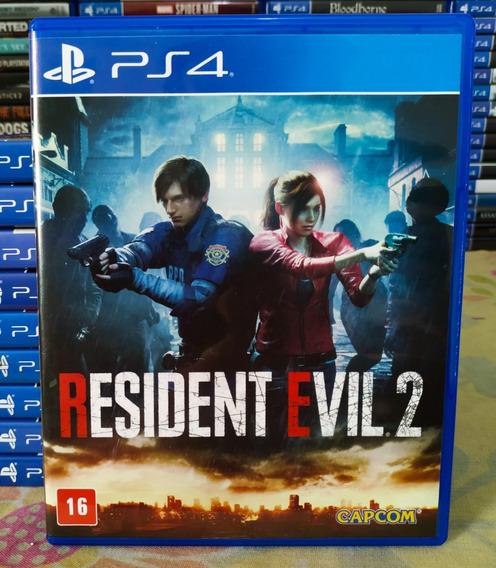 Resident Evil 2 Remake Ps4 - Jogo Mídia Física Em Português