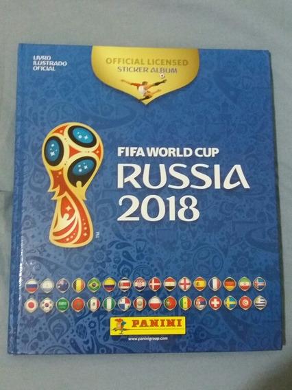 Álbum Capa Dura Copa Do Mundo Rússia 2018 Panini *completo**