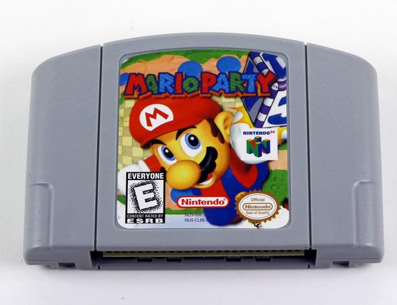 Mario Party Nintendo 64 N64 - Americano Novo Salvando