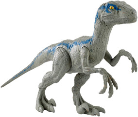 Jurassic World Dinossauro Velociraptor Blue Fny41 - Mattel