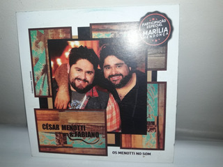 Cd Promo César Menotti & Fabiano Participâo Marília Mendonça