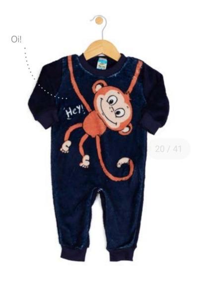 Pijama Estilo Macacão Plush Tileesul