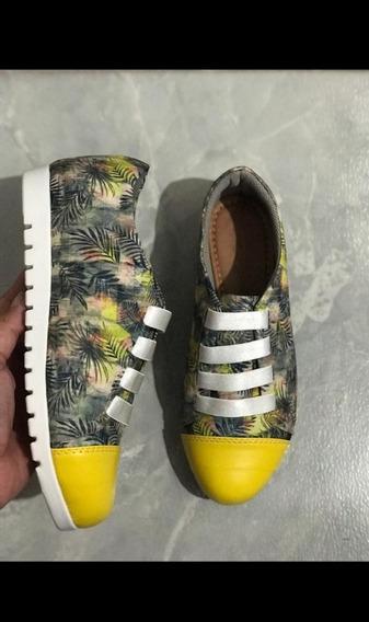Sapato Feminino Estampado