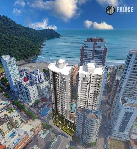 Imagem 1 de 30 de Cobertura Com 5 Dormitórios À Venda, 430 M² Por R$ 3.720.000,00 - Canto Do Forte - Praia Grande/sp - Co0024