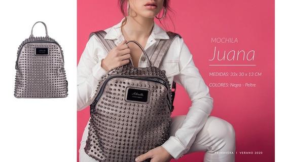 Mochila Con Tachas Mujer Adoratta Juana Moda 2020
