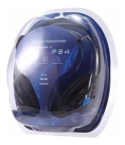 Auricular Gamer Headset P/ Pc Ps4 Playstation 4 Microfono P4