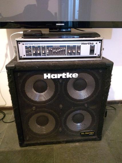 Cabeçote Hartke Ha 2500 + Caixa Hartke Xl410