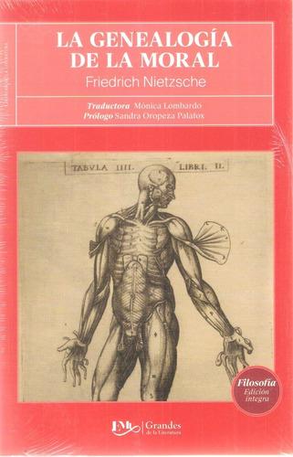 Genealogía De La Moral Friedrich Nietzche Grandes Literatura