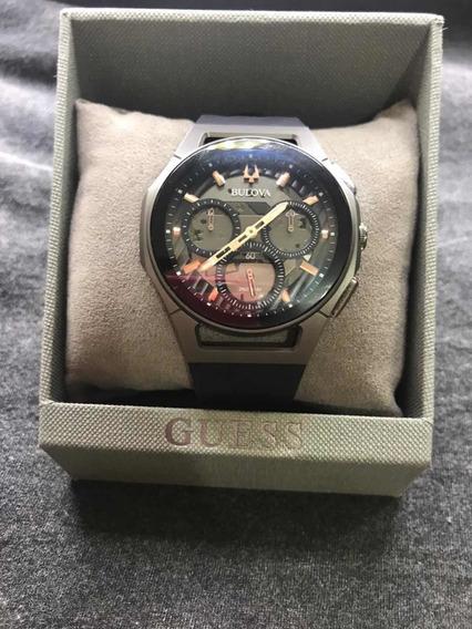Relógio Bulova Curv Cronógrafo 98a162 Titânio
