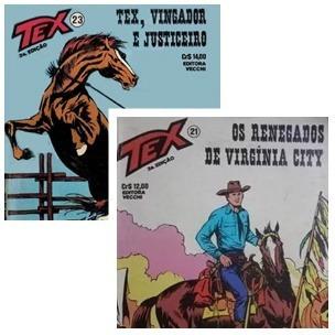 Gibi / Revista Tex - Lote Com 2 Gibis (21 E 23)
