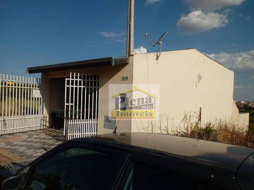 Casa Com 2 Dormitórios À Venda, 125 M²  - Parque Terras De Santa Maria - Hortolândia/sp - Ca4355