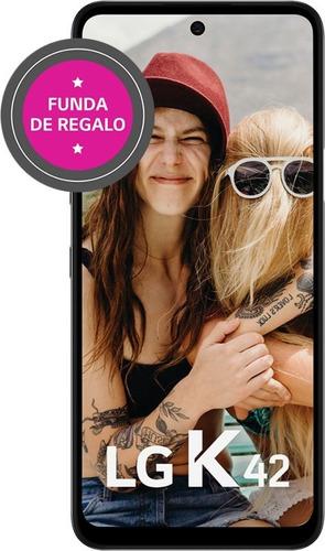 Imagen 1 de 8 de Celular Liberado LG K42 Gris 6,6  64 Gb