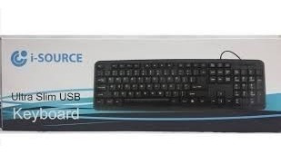 Teclado Usb Pc Escritorio Laptop Computadora Ultra Fino/ 6