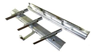 Ventiluz Mecanismo Aireador 3 Vidrios Aluminio Natural