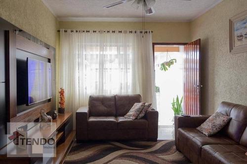 Imagem 1 de 15 de Imob01 - Sobrado 127 M² - Venda - 3 Dormitórios - 1 Suíte - Anchieta - São Bernardo Do Campo/sp - So0579
