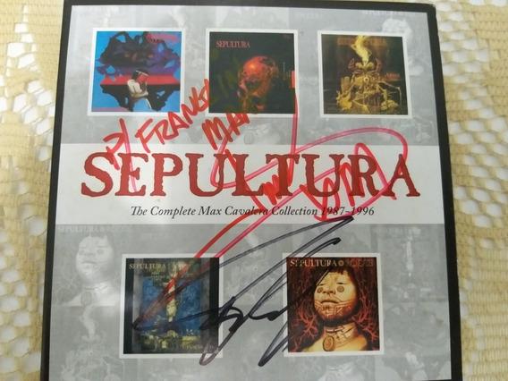 Autografado Sepultura The Complete 1987-1996 - Box Com 5 Cds