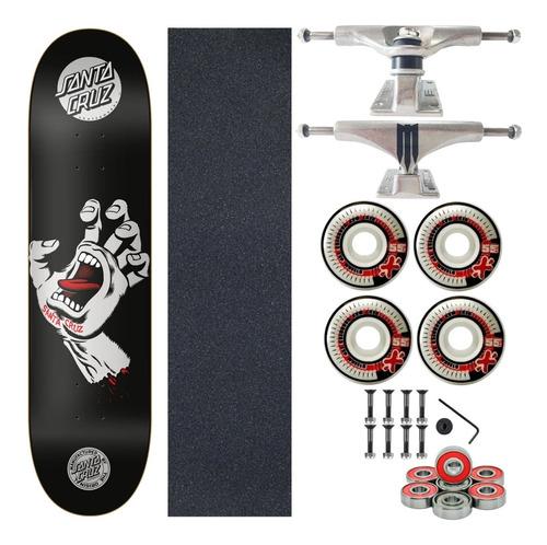 Skate Completo Profissional Shape Santa Cruz Serie Powerlyte
