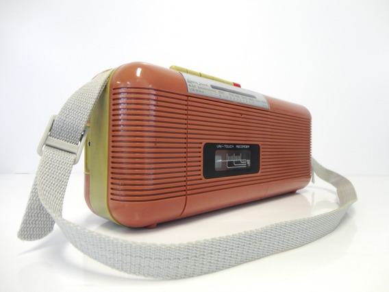 Rádio E Toca Fitas Antigo Modelo: Ct-72.