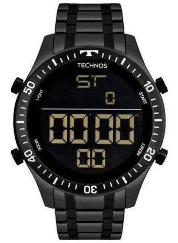 Relógio Technos Masculino Digital Preto T02139ab4p