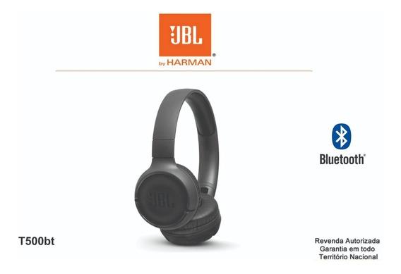 Fone De Ouvido Sem Fio Jbl T500bt Tune Bluetooth