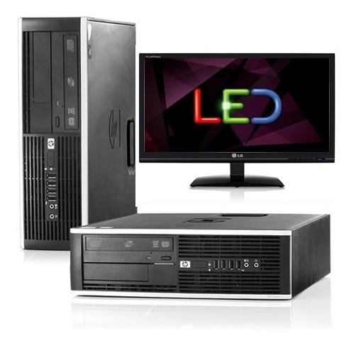 Kit Desktop Hp 8300 Core I5 3ª 3.10ghz 16gb 500g+ Monitor LG