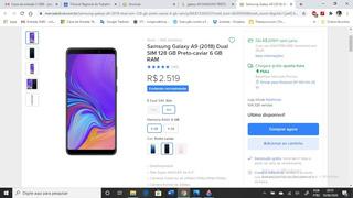 Celular Galaxy A9 Samsung