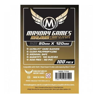 Fundas Dixit Card Sleeves - 80x120 Mm Mayday Magnum
