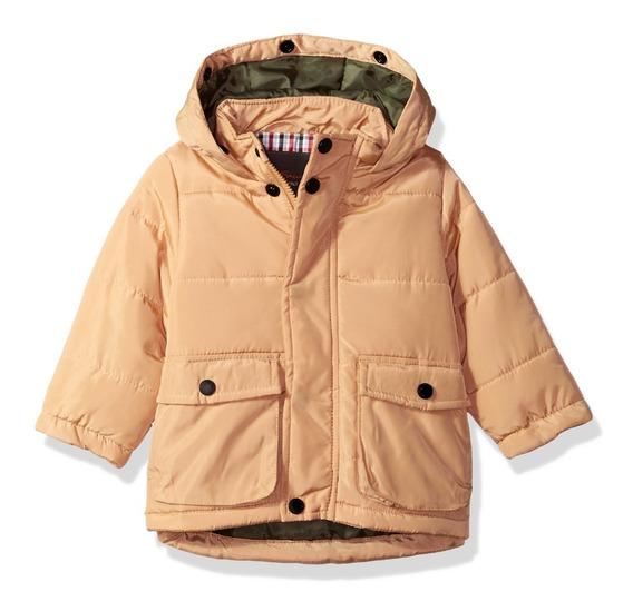 Jaqueta Casaco Blusa De Frio Inverno Infantil Capuz Pelucia