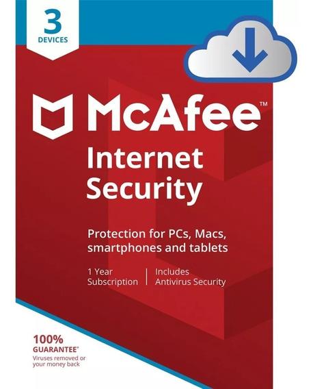Mcafee Antivírus 2019 Original Compre 1 Leve 3 Online