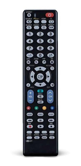 Controle Remoto Multilaser - Tvs Led E Lcd Samsung - Ac176