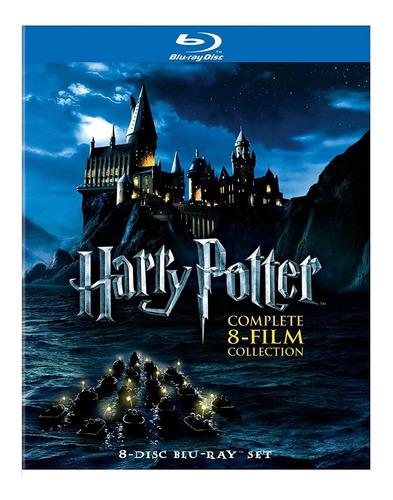 Harry Potter - Colección Completa [blu-ray] - 8 Discos