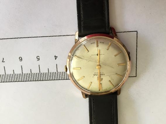 Um Relógio De Pulso Tressa Dos Anos 50 Para Homem.